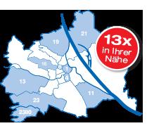 13x in Wien